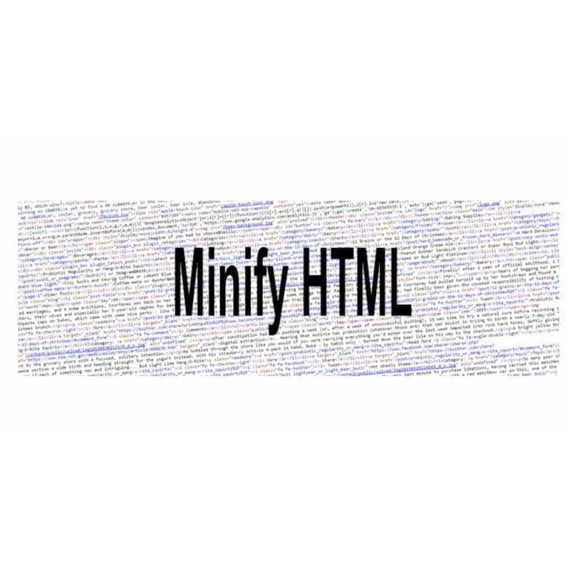 Minify HTML Module PrestaShop