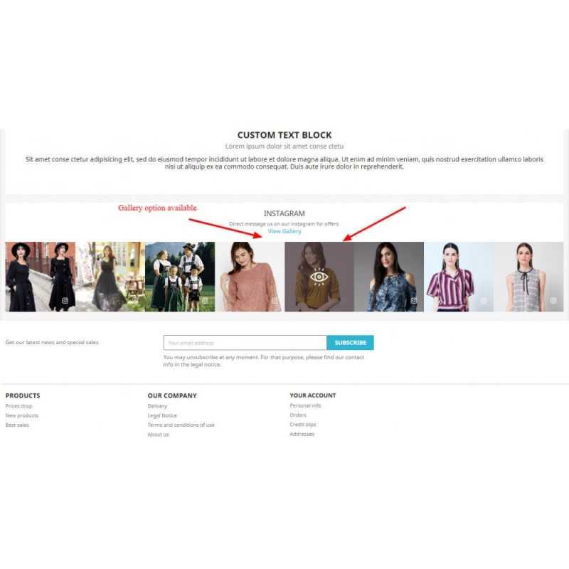 Instagram Feed Slider & Carousel with NEW API Module