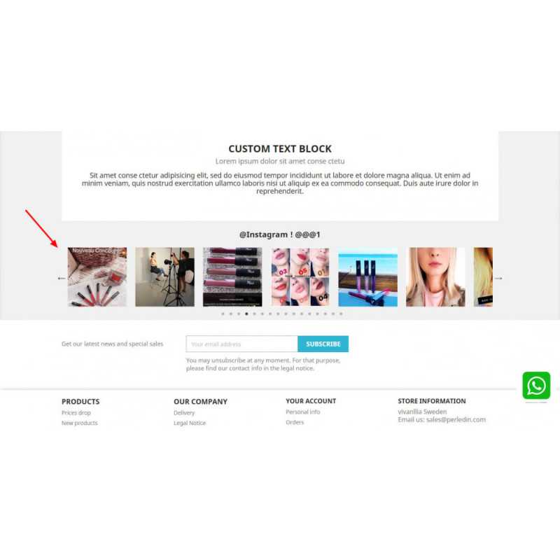 Instagram Feed Slider & carousel with NEW API